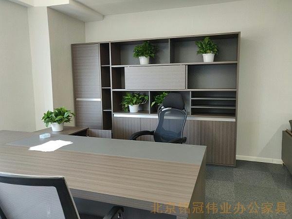 老板办公室配套家具-北京铭冠伟业办公家具定制生产厂家
