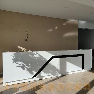 北京铭冠伟业完成XX科技公司办公室家具定制