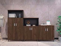 现代板式高低组合文件柜