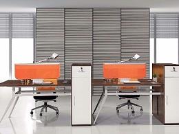 现代时尚高柜职员工位办公桌