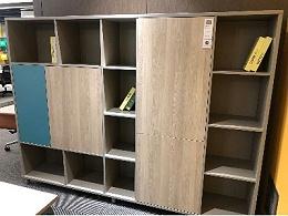 经理办公室木质文件储物书柜